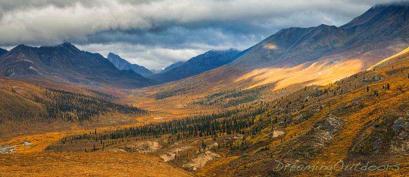 North Klondike Valley Panorama