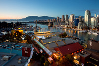 Granville Island Blue Hour