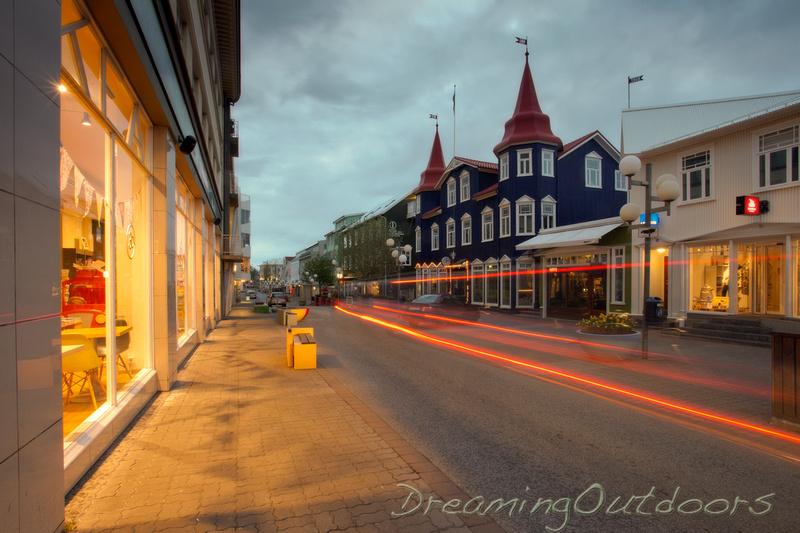 Akureyri Streetlight